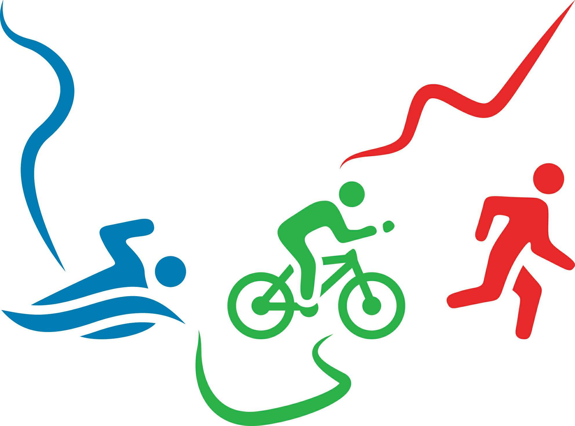 Swim Ride Run - Our logo elements